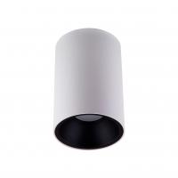 Точковий світлодіодний світильник накладний Prima Luce PL-03080 WH+BK