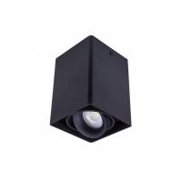 Точковий світлодіодний світильник накладний поворотний Prima Luce PL-0406 BK