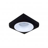 Точковий світлодіодний світильник вбудований Prima Luce PL-3553-BK +BK/WH