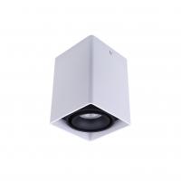 Точковий світлодіодний світильник накладний поворотний Prima Luce PL-0406 WH