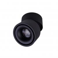 Точковий світлодіодний світильник накладний поворотний Prima Luce PL-20 12W BK