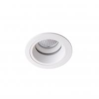 Точковий світлодіодний світильник вбудований поворотний Prima Luce PL-0213-WH