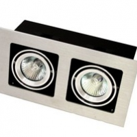 Точковий світильник вбудований під лампу GU 5.3 Prima Luce 102