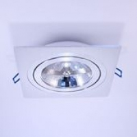 Точковий світильник вбудований під лампу G53 Prima Luce 3011