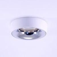 Точковий світильник вбудований під лампу GU 5.3 Prima Luce 3557R-1 Сhrome