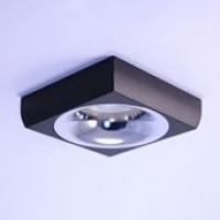 Точковий світильник вбудований під лампу GU 5.3 Prima Luce 3557S-1 Сhrome