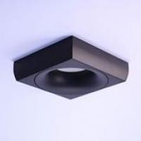 Точковий світильник вбудований під лампу GU 5.3 Prima Luce 3557S-1 (black)
