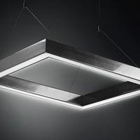 Світлодіодний світильник з алюмінієвого профілю Prima Geometry Line Square Type (Україна)