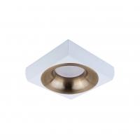 Точковий світлодіодний світильник вбудований Prima Luce PL-3553-WH +SL/GD